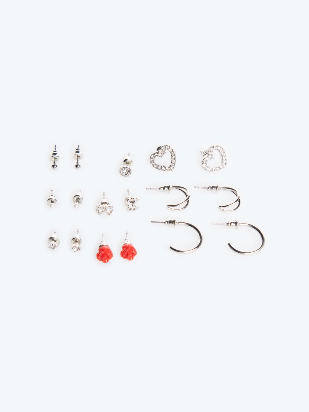 9-pack earrings