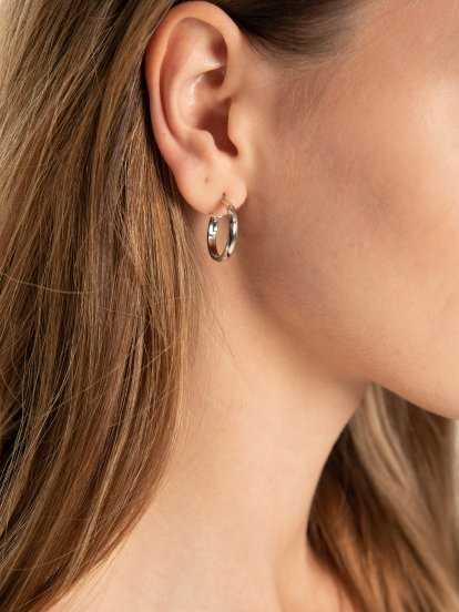 3-pack hoop earrings