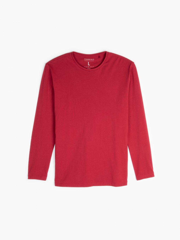 Basic dżersejowa koszulka slim fit