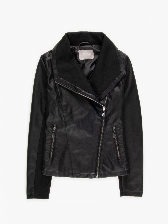 Combined biker jacket