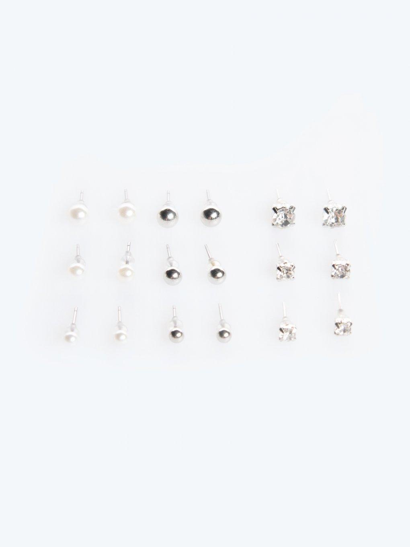 9-pairs basic earrings