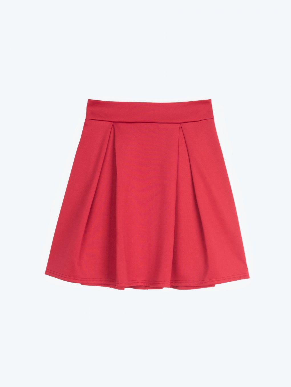 Skater mini skirt
