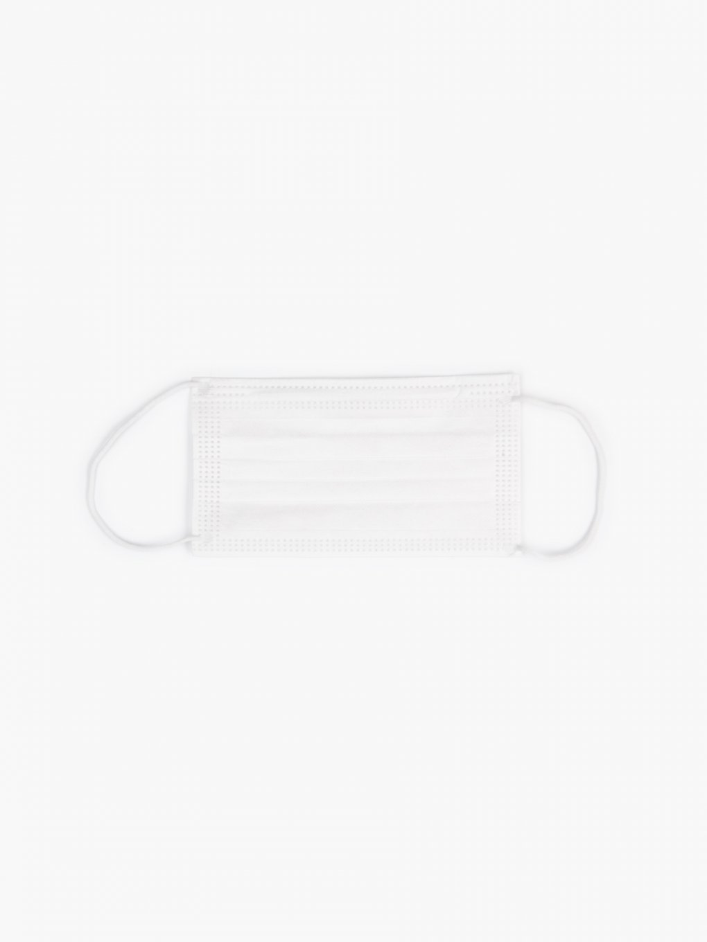 3-ply white disposable face mask (50 pcs)