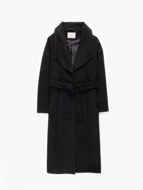 Longline robe coat