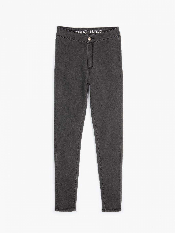 Basic high waist skinny jeans