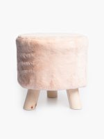 Round dressing table stool