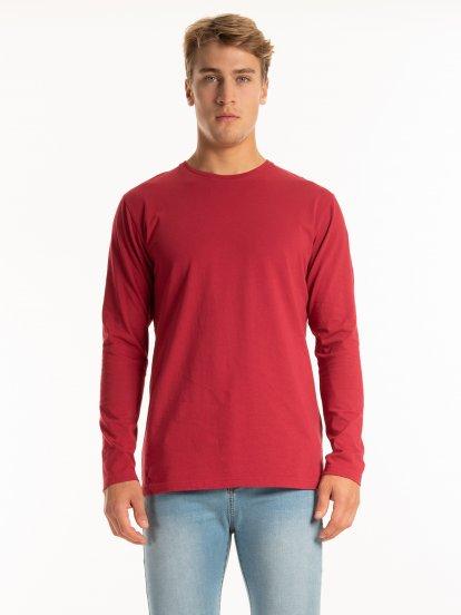 Základní žerzejové tričko slim fit