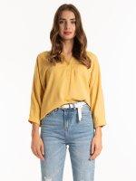 PREMIUM QUALITY: Lyocell blouse