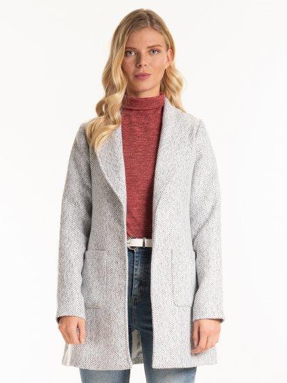 Short belted robe coat