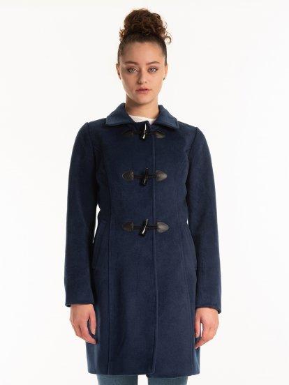 Jednobarevný kabát