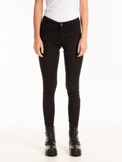 Basic low waist skinny jeans