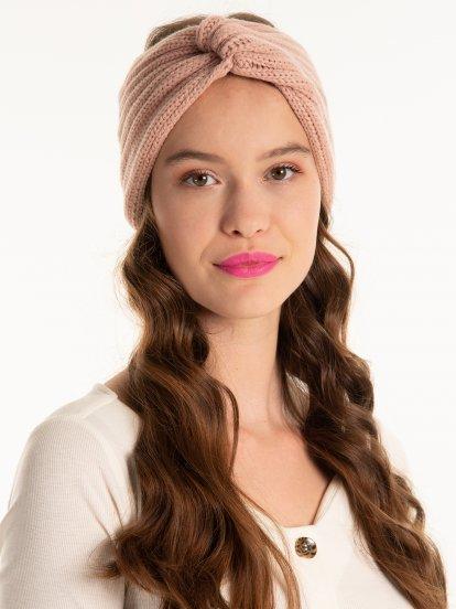 Headband with knot