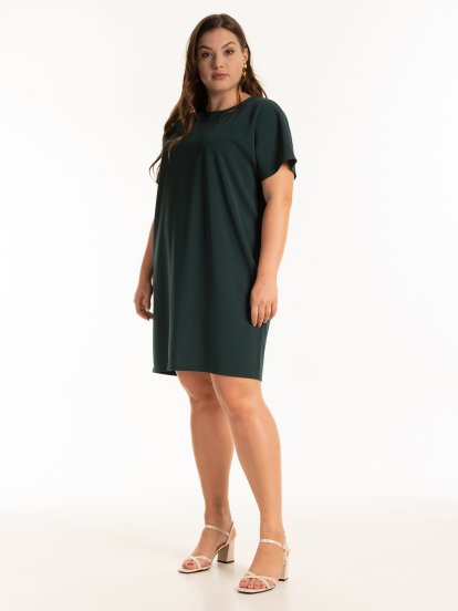 Jednoduché tričkové šaty
