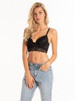 Lace padded bra