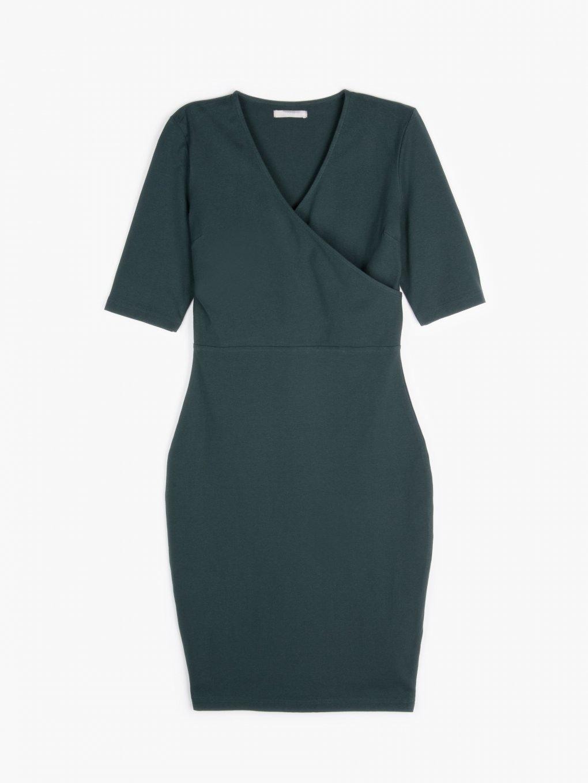 Basic ołówkowa sukienka