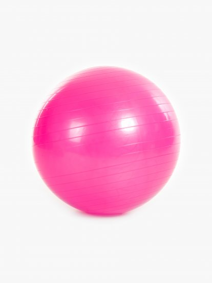Masująca piłka gimnastyczna zpompką 65cm