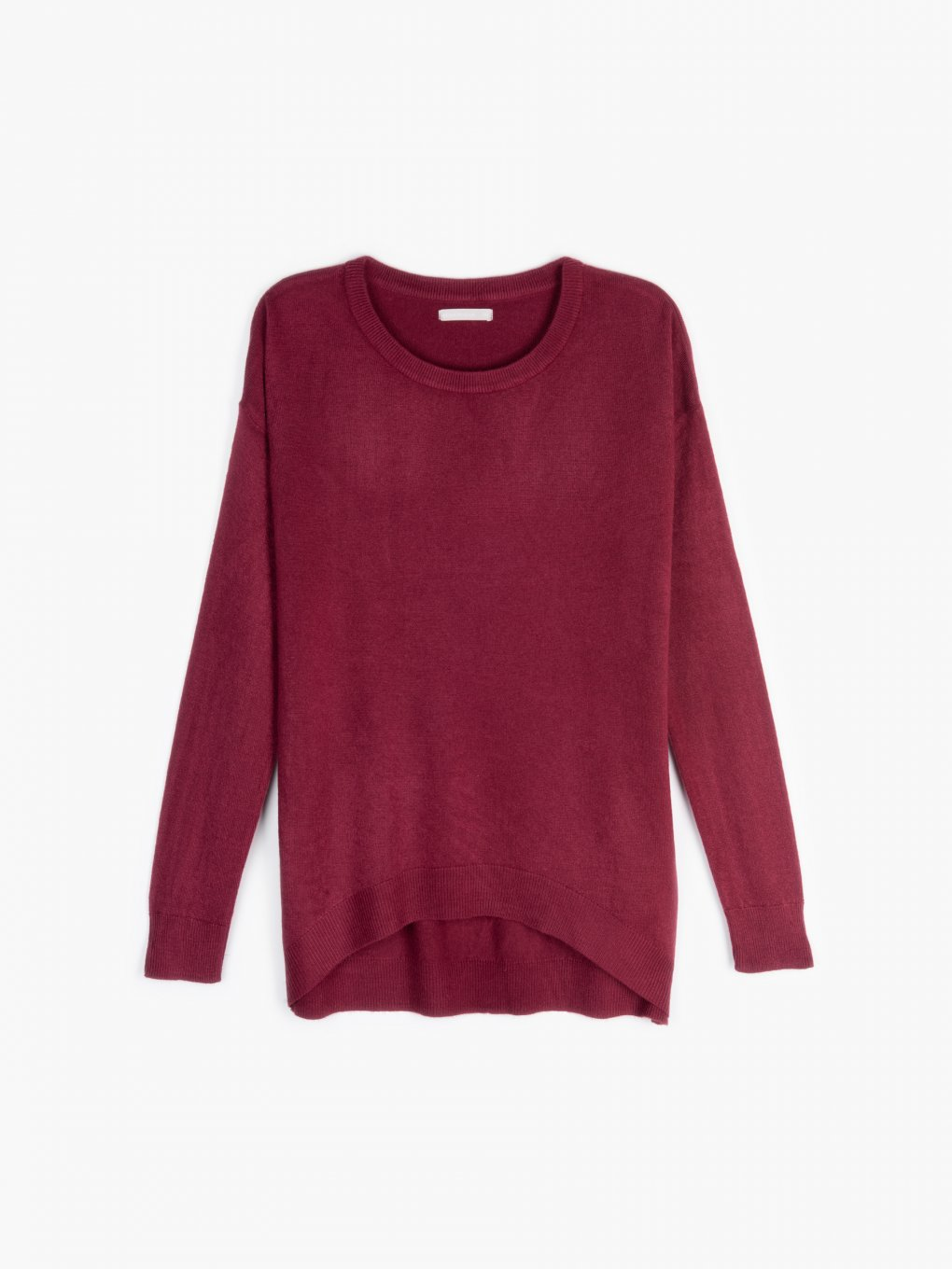 Basic fine knit jumper