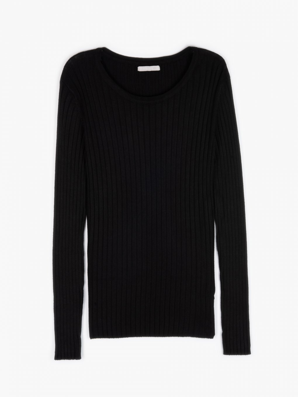Basic ribbed jumper