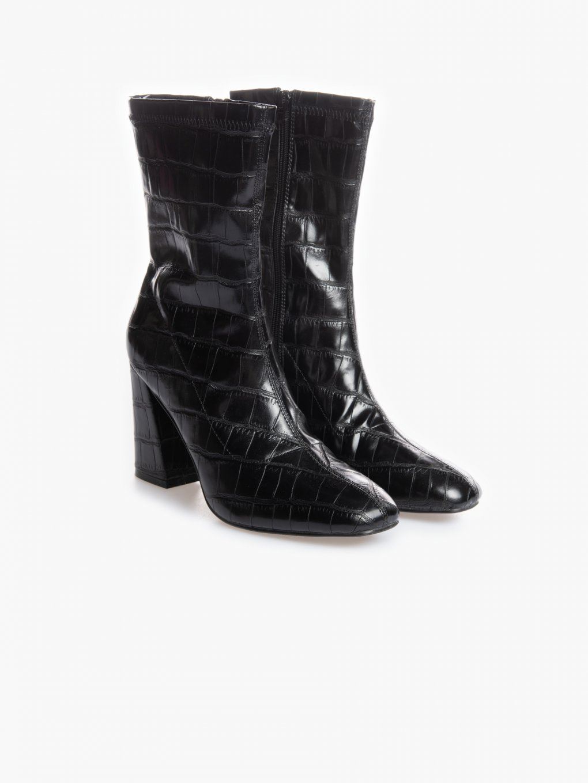 Buty na blokowym obcasie