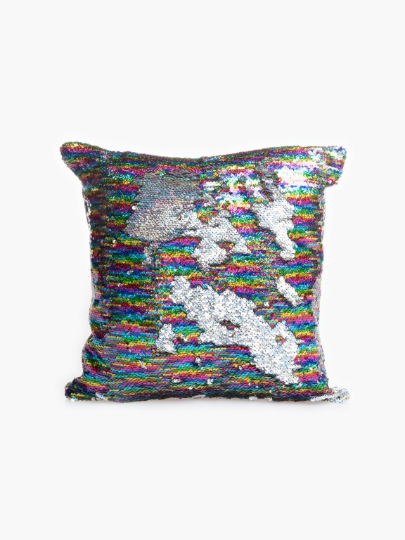 Sequin pillow 40x40cm