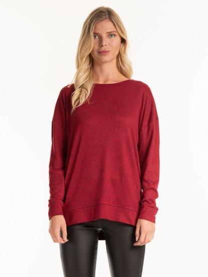 Fine knit top