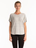 Fine knit top with chest pocket