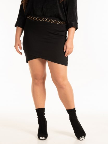 Pouzdrová mini sukně