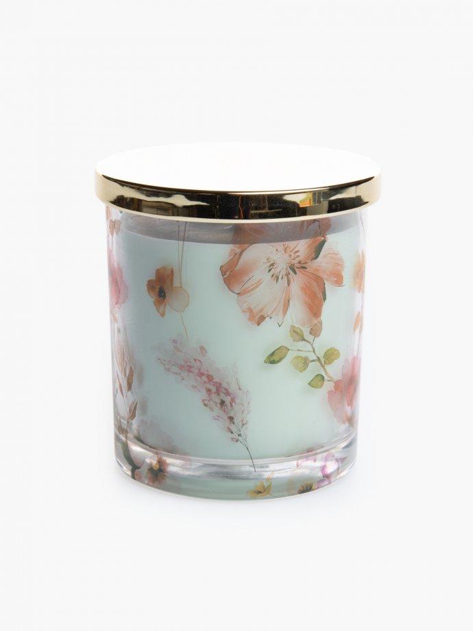 English pear & freesia scented candle