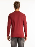 Basic raw edges t-shirt