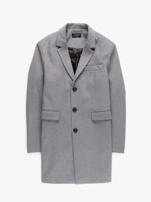 Przedłużony płaszcz