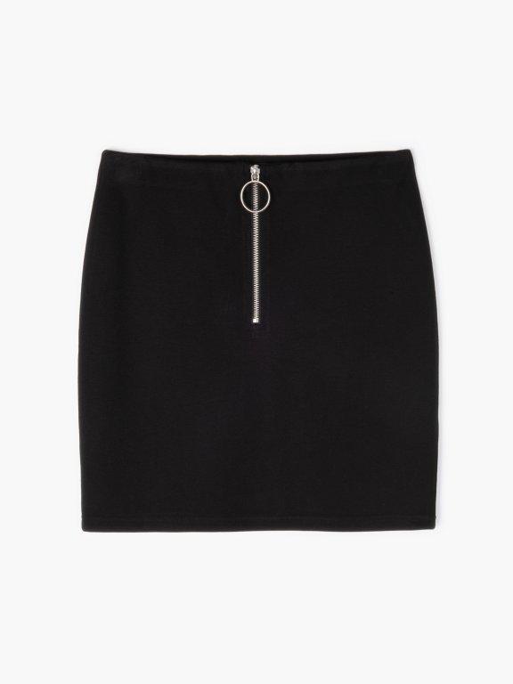 Mini sukně se zipem
