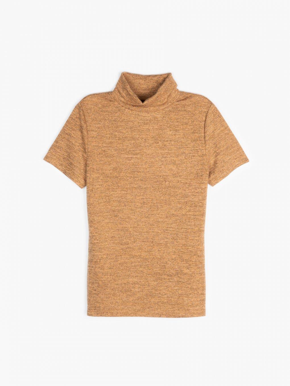 Short sleeve rollneck t-shirt