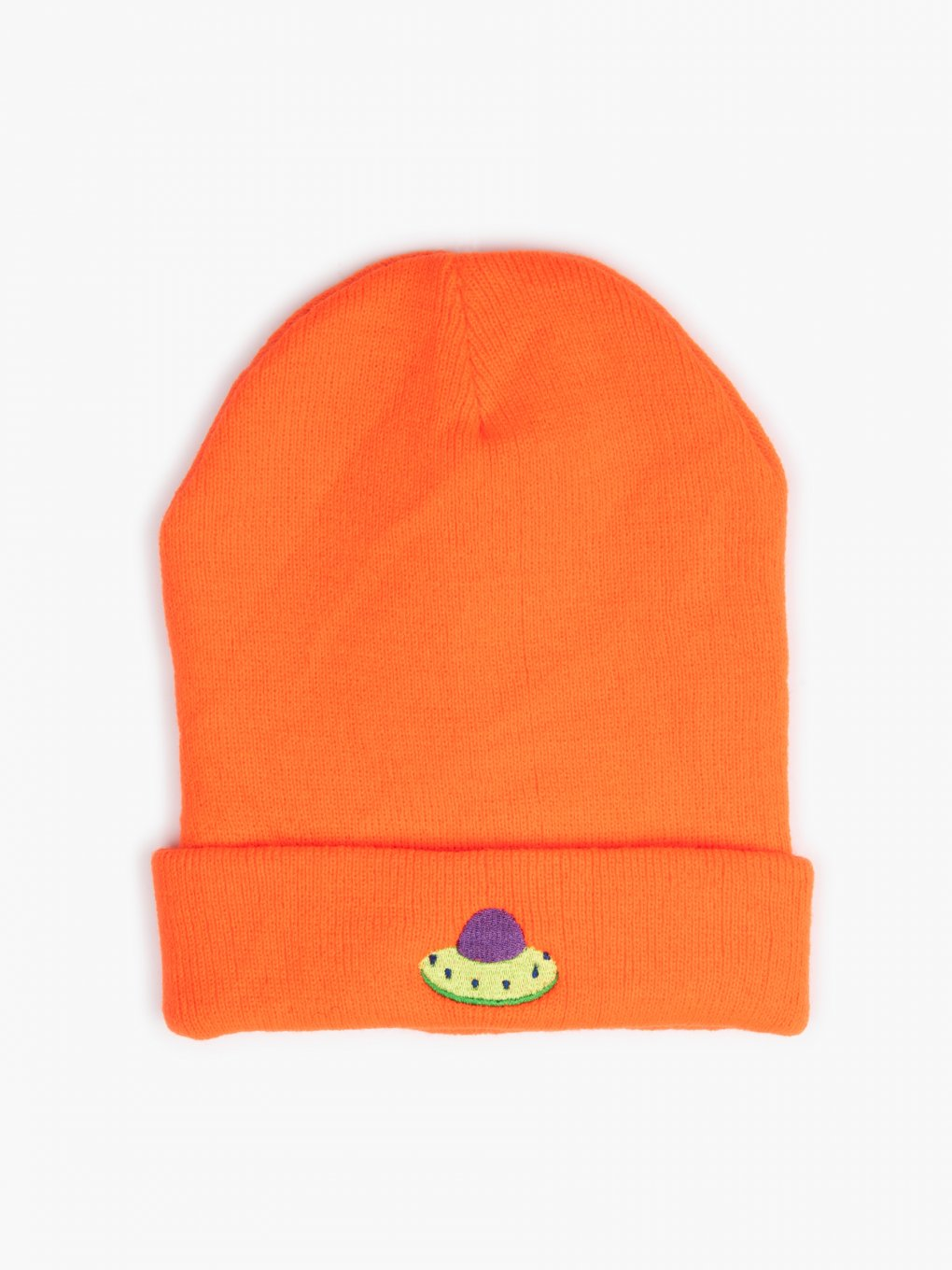 Beanie with embro