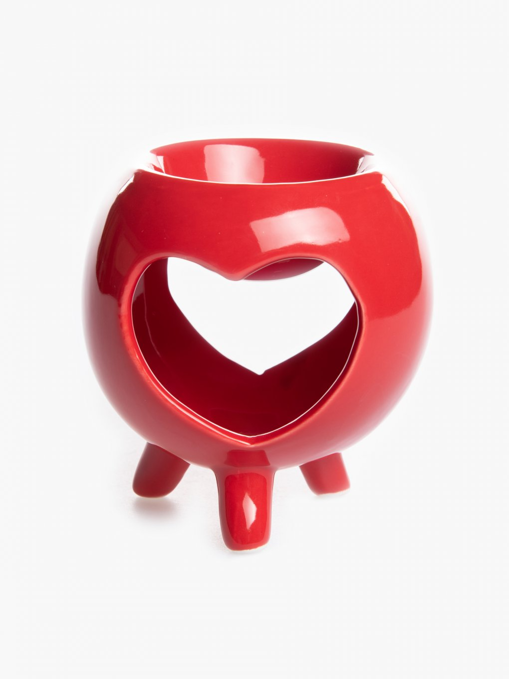 Heart shape wax burner