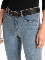 Double ring buckle belt