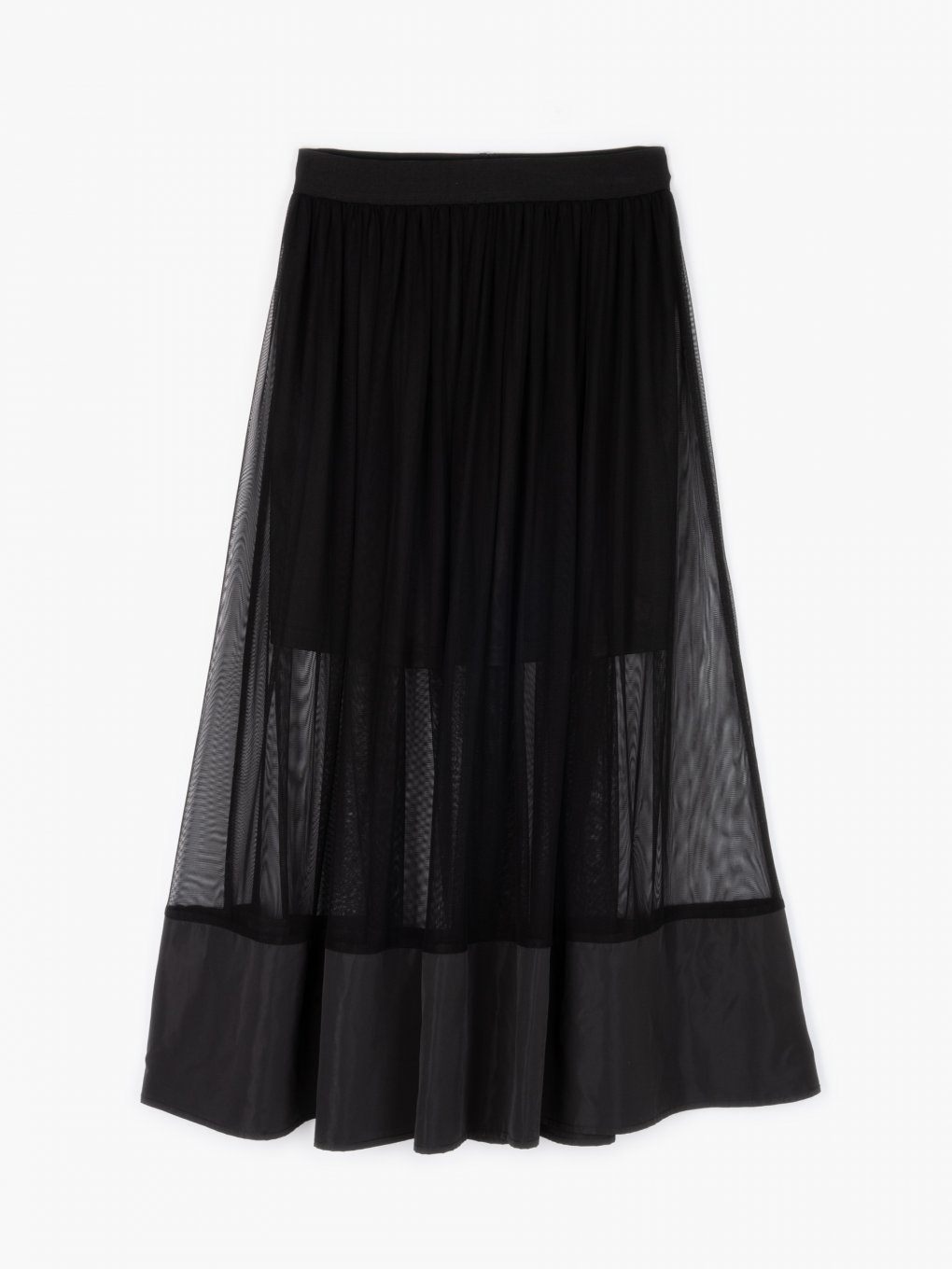 A-line combined skirt