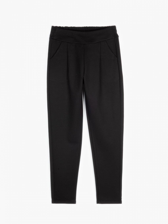 Elastické nohavice rovného strihu
