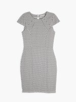 Structured bodycon dress