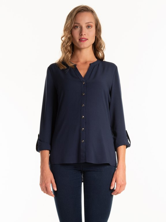 Structured blouse