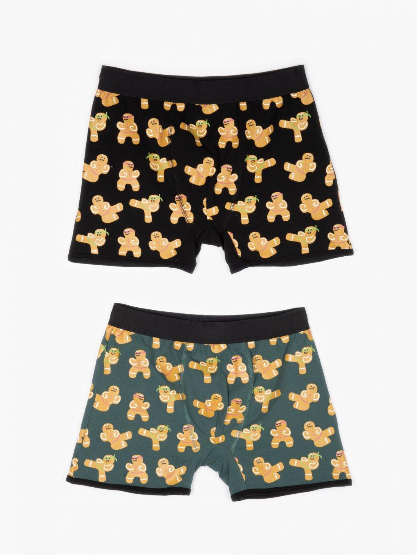 2-pack printed boxers