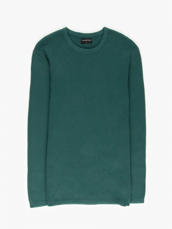Sweter ze splotu żeberkowego