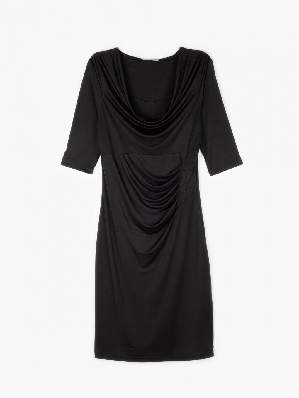 Popnuté šaty midi