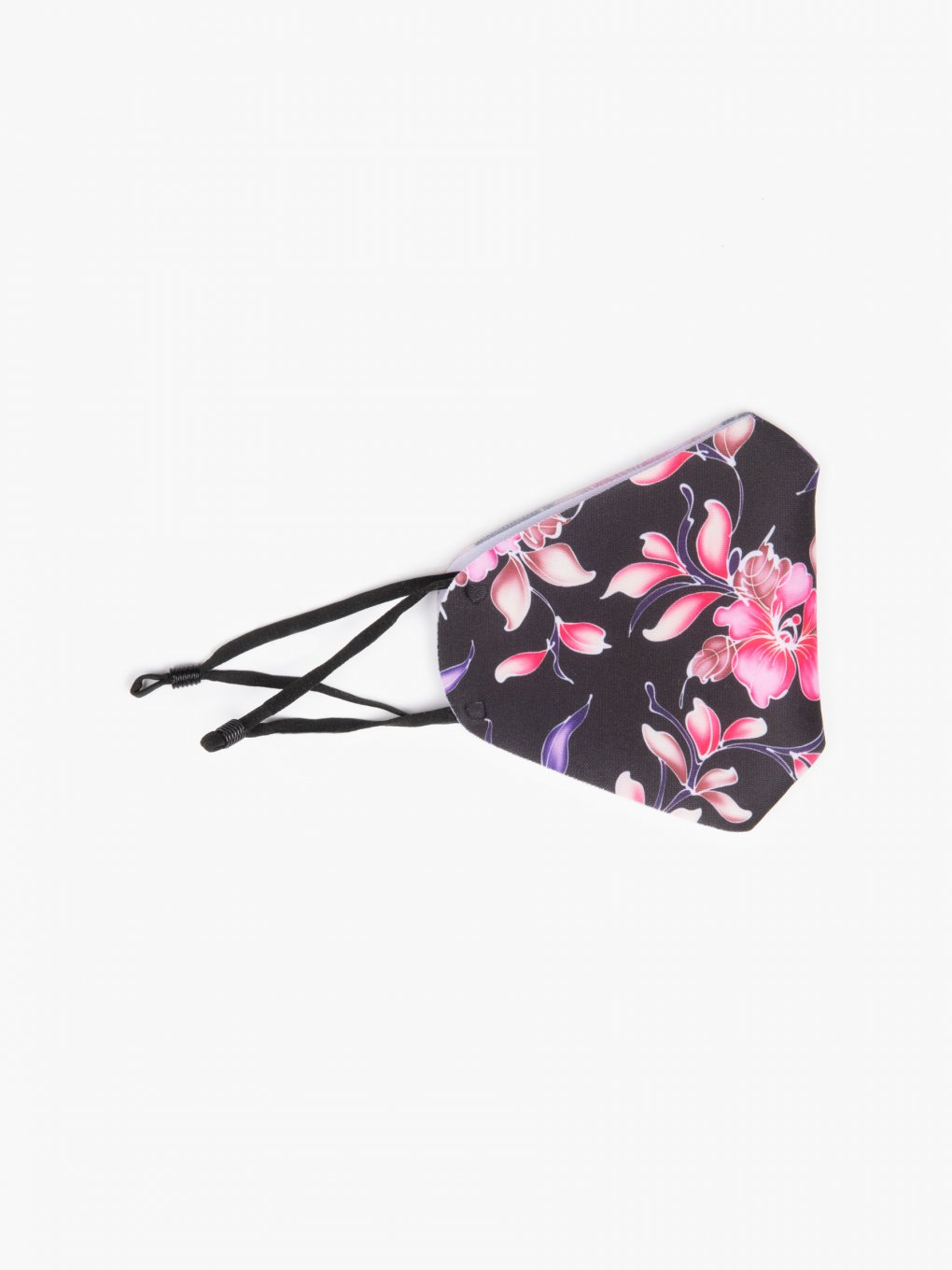 Floral print reusable face mask