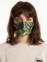 Printed reusable face mask