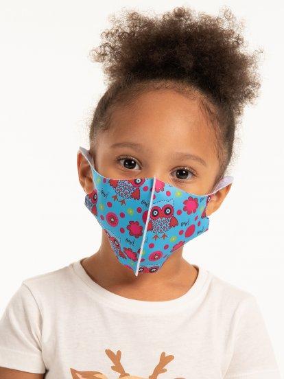 Elastická ochranná rouška pro děti (2R-7R)