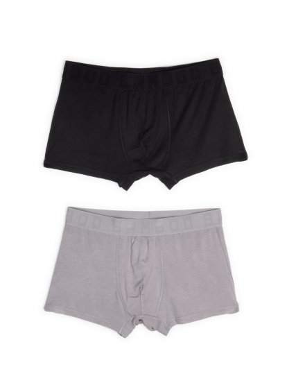 2-pack bamboo boxers