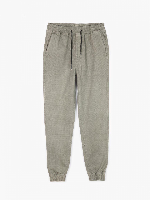 Strečové nohavice jogger