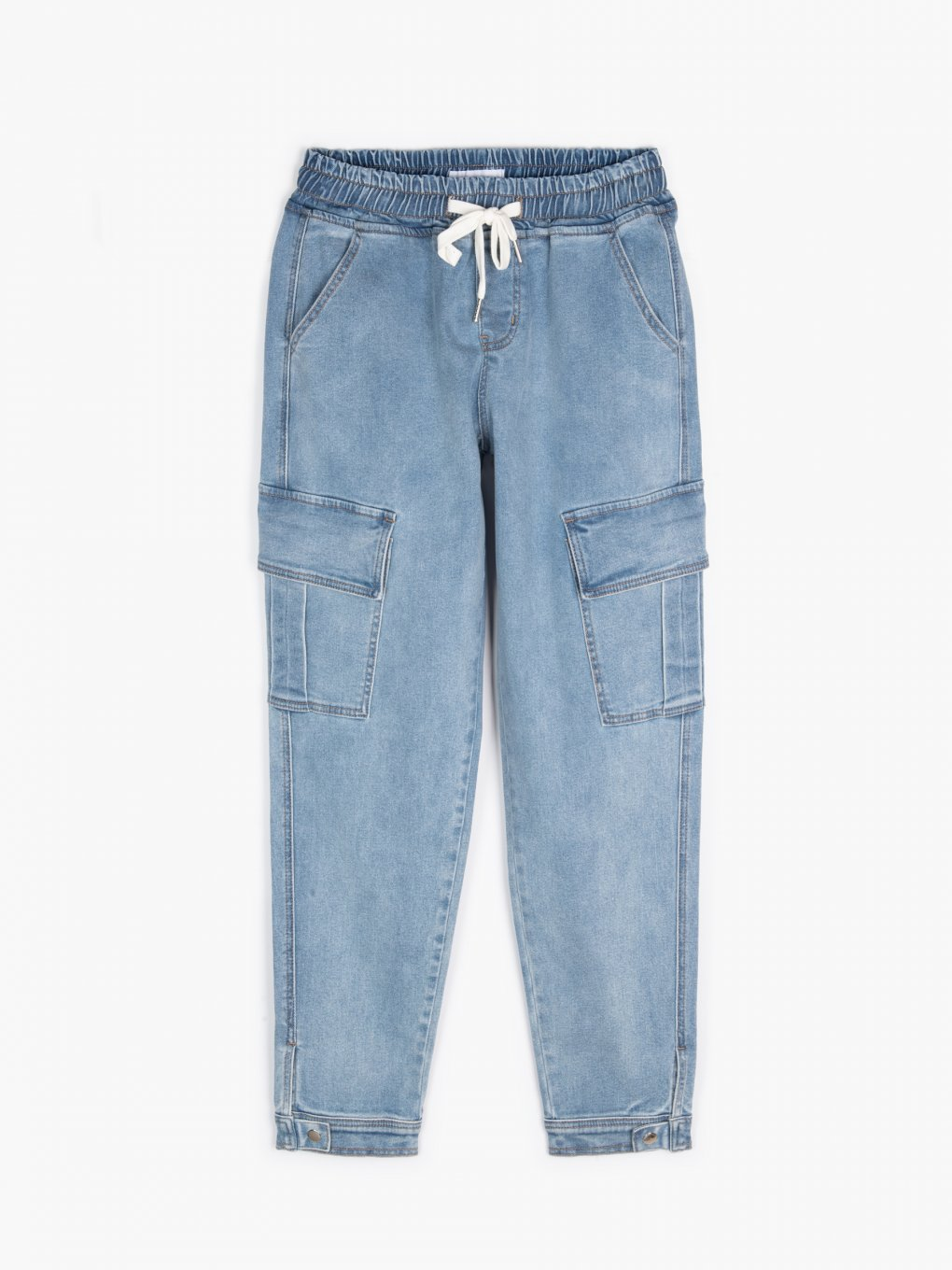 Cargo jogger fit jeans