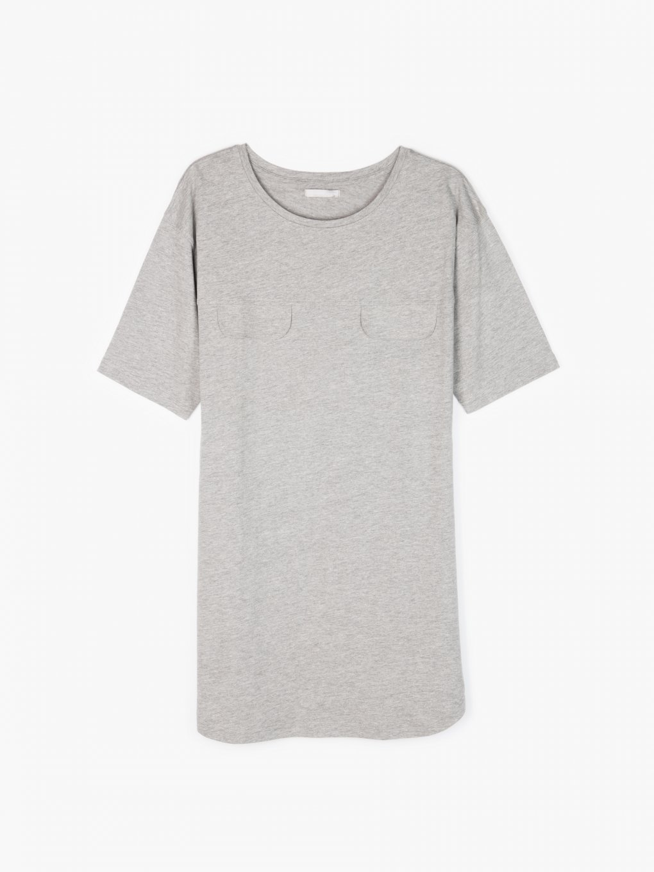 T-shirt z bawełnianej dzianiny