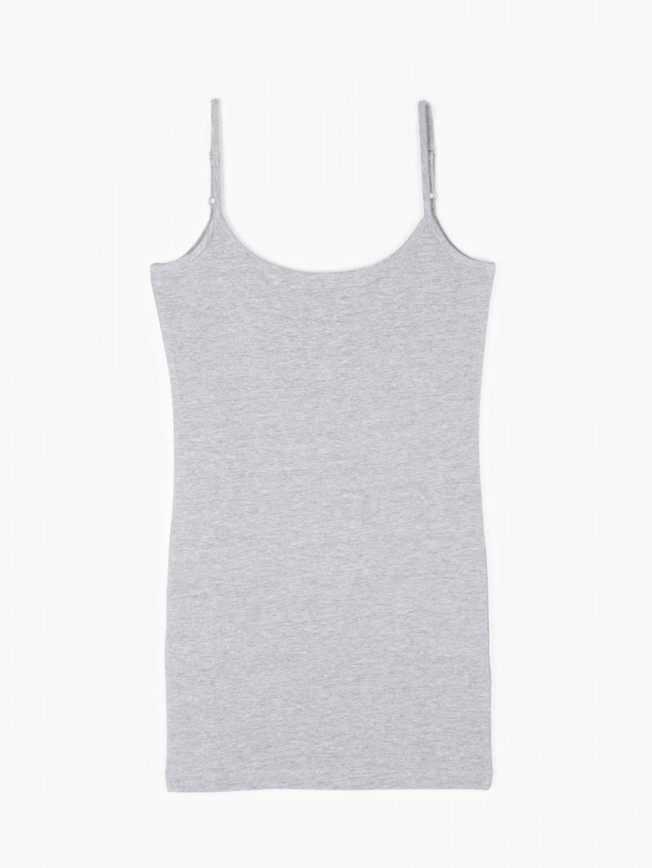 Długa koszulka basic